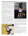 Winona State University 2013 Volleyball Program Covers and Inserts