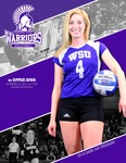 Winona State University 2013 Volleyball Program Covers
