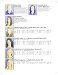 Winona State University 2012 Volleyball Program