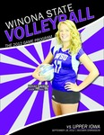 2012 Volleyball Program Covers and Rosters: Winona State University