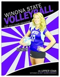 2012 Volleyball Program Covers: Winona State University