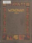 Wenonah Yearbook 1924