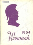 Wenonah Yearbook 1954