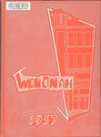 Wenonah Yearbook 1957 by Winona State College