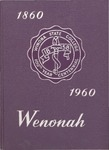 Wenonah Yearbook 1960 by Winona State College