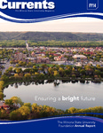 Winona Currents Annual Report 2014 by University Advancement - Winona State University