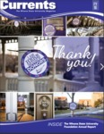 Winona Currents Annual Report 2016 by University Advancement - Winona State University