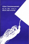 1982 Commencement Program: Winona State University by Winona State University