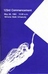 1983 Commencement Program: Winona State University by Winona State University