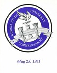 1991 Commencement Program: Winona State University