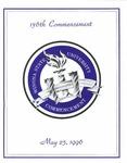 1996 Commencement Program: Winona State University by Winona State University