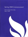 2008 Spring Commencement Program: Winona State University by Winona State University