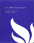 2009 Fall Commencement Program: Winona State University by Winona State University