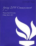 2011 Spring Commencement Program: Winona State University by Winona State University