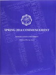 2014 Spring Commencement Program: Winona State University by Winona State University