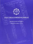 2014 Fall Commencement Program: Winona State University by Winona State University