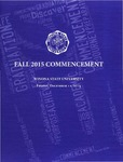 2015 Fall Commencement Program: Winona State University by Winona State University