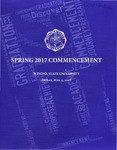 2017 Spring Commencement Program: Winona State University by Winona State University