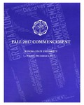 2017 Fall Commencement Program: Winona State University by Winona State University