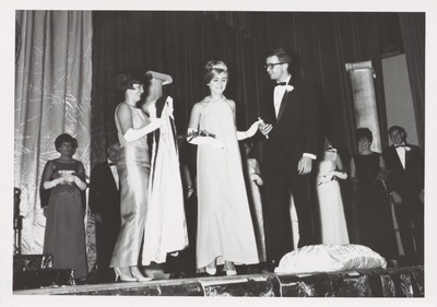 Homecoming Coronation 1965 Queen Cindy Packard Sue Zimmerman