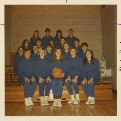 Basketball Team Names on back of picture