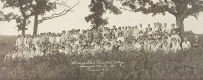Winona State Teachers College Annual Picnic People Not Identified