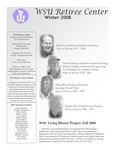 The Retiree Center Newsletter - Winter 2008 by Retiree Center-Winona State University