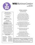 The Retiree Center Newsletter - Summer 2012