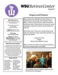 The Retiree Center Newsletter - Spring 2013 by Retiree Center-Winona State University