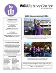 The Retiree Center Newsletter - Winter 2014 by Retiree Center-Winona State University