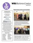 The Retiree Center Newsletter - Fall 2015 by Retiree Center-Winona State University