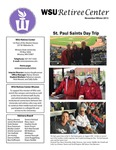 The Retiree Center Newsletter - Winter 2015 by Retiree Center-Winona State University