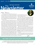 The Retiree Center Newsletter - Fall 2018 by Retiree Center-Winona State University