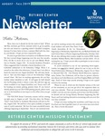 The Retiree Center Newsletter - Fall 2019 by Retiree Center-Winona State University