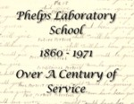 Phelps Laboratory School 1860-1971: Over a Century of Service by Winona State University